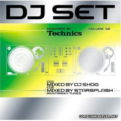Technics DJ Set Volume 18 [2007] / 2xCD / Mixed by DJ Shog & Starsplash