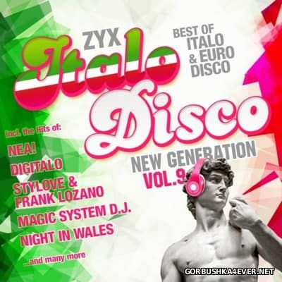 ZYX Italo Disco - New Generation vol 9 [2016] / 2xCD