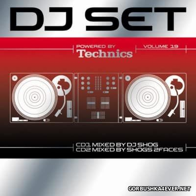 Technics DJ Set Volume 19 [2007] / 2xCD / Mixed by DJ Shog & Shogs 2Faces