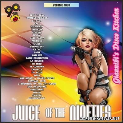 Juice Of The Nineties vol 04 [2015] Mixed by Giannibi's Disco Kitchen