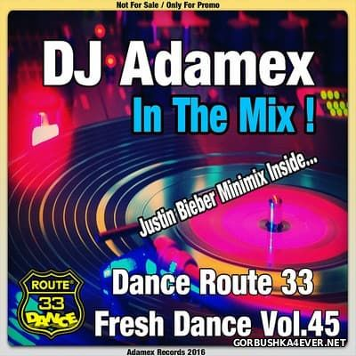 DJ Adamex - Dance Route 33 Megamix [Fresh Dance vol 45]
