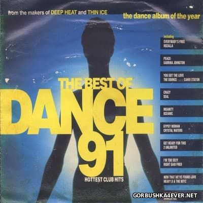 The Best Of Dance 91 - Hottest Club Hits [1991] / 2xCD