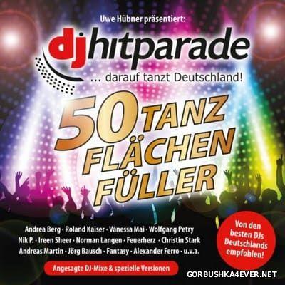 DJ Hitparade 50 Tanzflächenfüller [2016] / 3xCD