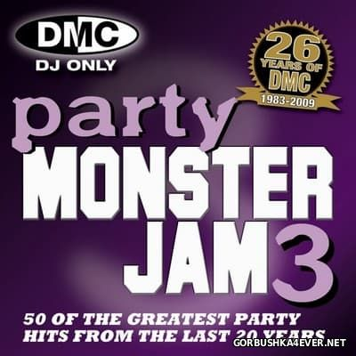 [DMC] Monsterjam - Party 3 [2009] Mixed By Rod Layman