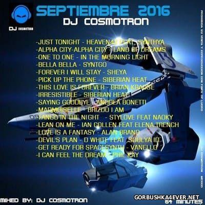 DJ Cosmotron - Septiembre Mix 2016