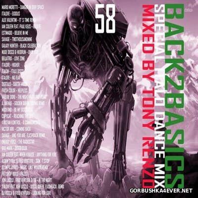 Back2Basics Italo Mix vol 58 [2016] by Tony Renzo