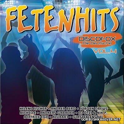 Fetenhits Discofox - Die Deutsche vol 4 [2016] / 2xCD