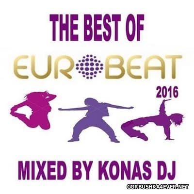 Konas DJ - The Best Of Eurobeat [2016]