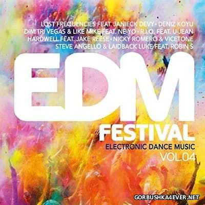 EDM Festival - Electronic Dance Music vol 4 [2016] / 3xCD