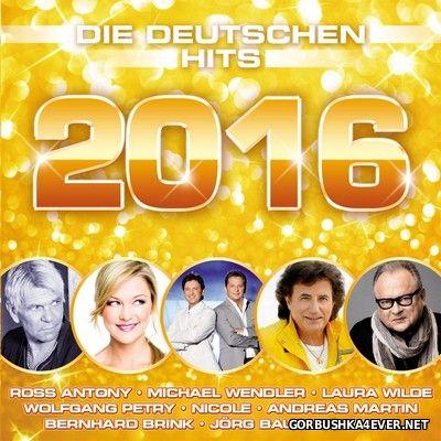 Die Deutschen Hits 2016 / 2xCD