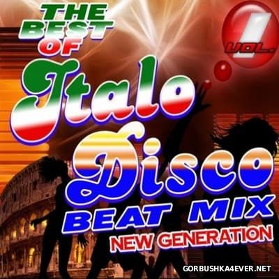 DJ Max - The Best Of Italo Disco (New Generation) Beat Mix vol 01 [2016]