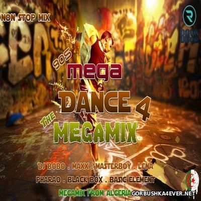[We Love The 90s] Mega Dance Megamix 4 [2016] Mixed by DJ Ridha Boss
