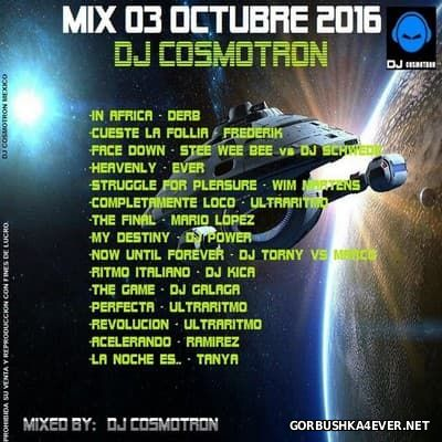 DJ Cosmotron - HiNRG October Mix 2016.1
