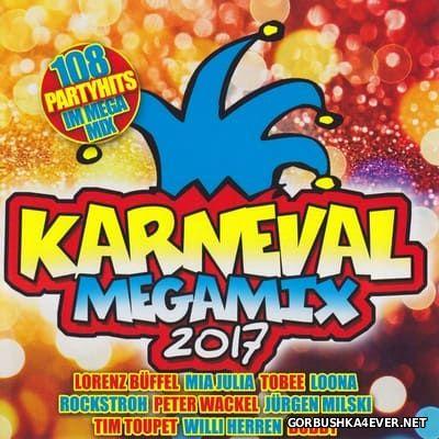 Karneval Megamix 2017 [2016] / 2xCD