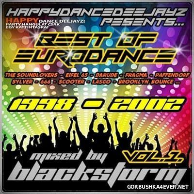 Best Of EuroDance Mix vol 01 (1998-2002) [2016] by BlackStorm