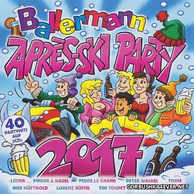 Ballermann - Apres Ski Party 2017 [2016] / 2xCD