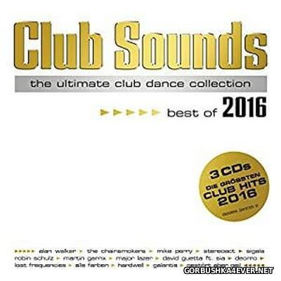 Club Sounds - Best Of 2016 / 3xCD