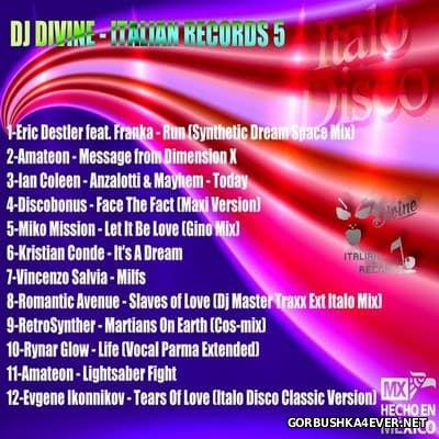 DJ Divine - Divine Italian Records 5 [2016]