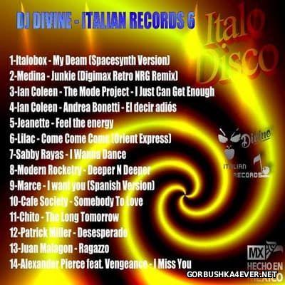 DJ Divine - Divine Italian Records 6 [2016]