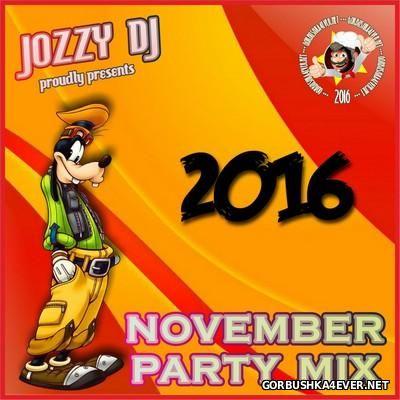 Jozzy DJ - November Partymix [2016]