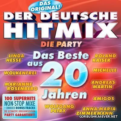 Der Deutsche Hitmix - Das Beste Aus 20 Jahren [2016] / 3xCD