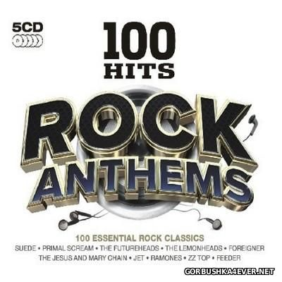 100 Hits - Rock Anthems [2011] / 5xCD