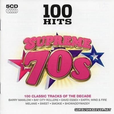 100 Hits - Supreme 70s [2014] / 5xCD