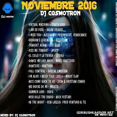 DJ Cosmotron - Noviembre Mix 2016