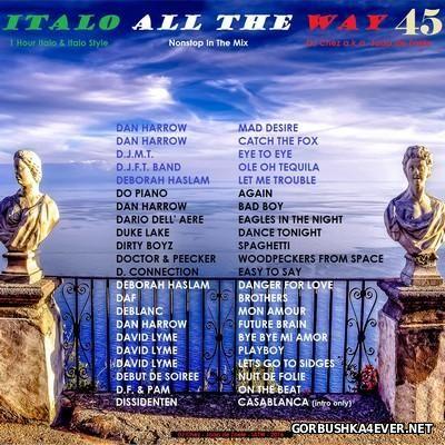 DJ Chez - Italo All The Way vol 45 [2016]