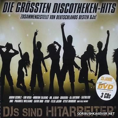 DJs Sind Hitarbeiter Die Groessten Discotheken Hits [2016] / 3xCD