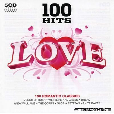 100 Hits - Love [2007] / 5xCD