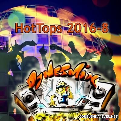 DJ Netmix - Hot Tops In The Mix 2016.8