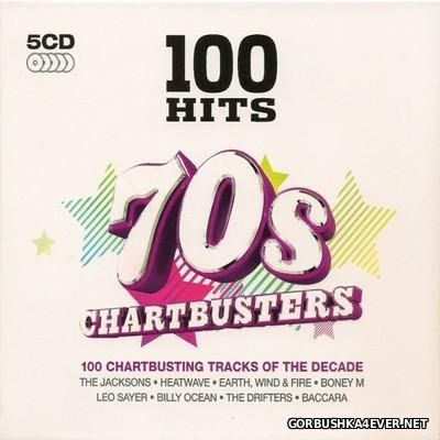 100 Hits - 70s Chartbusters [2015] / 5xCD