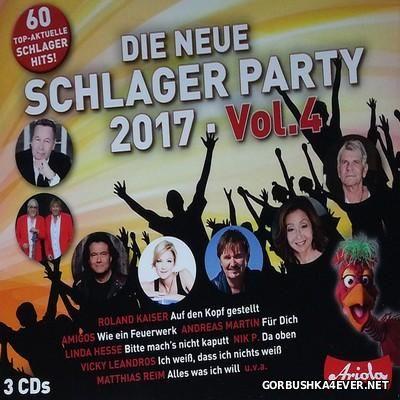 Die Neue Schlager Party 2017 vol 4 [2016] / 3xCD