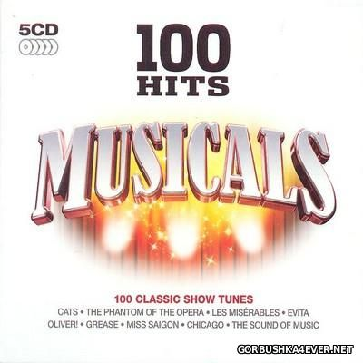 100 Hits - Musicals [2009] / 5xCD