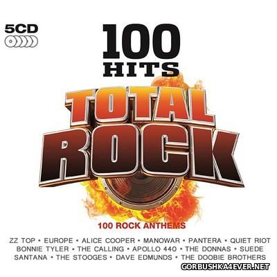 100 Hits - Total Rock [2016] / 5xCD