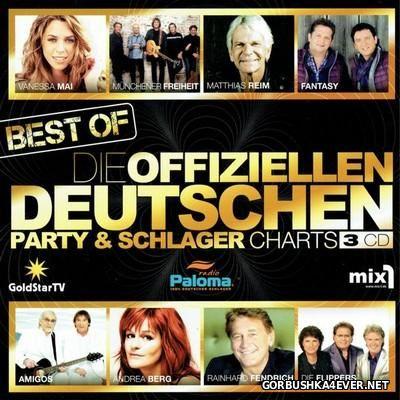 Die Offiziellen Deutschen Party Schlager Charts - Best Of [2016] / 3xCD