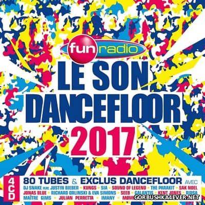 Fun Radio - Le Son Dancefloor 2017 [2016] / 4xCD