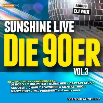 Sunshine Live - Die 90er vol 3 [2016]