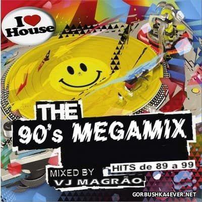 DJ VJ Magrao - The 90's Megamix [2009]