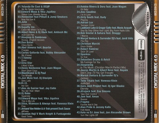 DJ Mikel Vilchez - Digital Mix 4 0 [2011] - 2 April 2011
