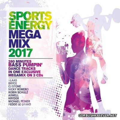 Sports Energy Megamix 2017 [2016] / 3xCD