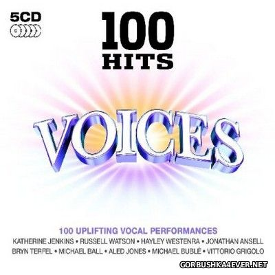 100 Hits - Voices [2009] / 5xCD