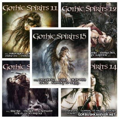 Gothic Spirits vol 11 - vol 15 [2010-2012] / 10xCD