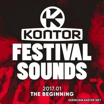 [Kontor] Festival Sounds 2017 - The Beginning [2017] / 3xCD