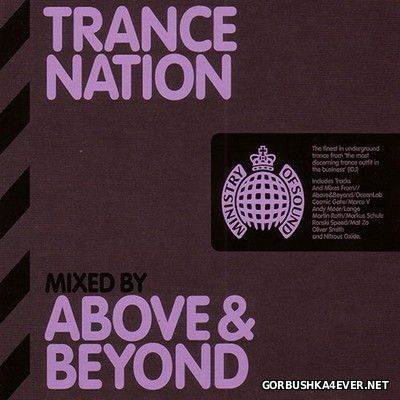 [Ministry Of Sound] Trance Nation [2009] / 2xCD / Mixed by Above and Beyond