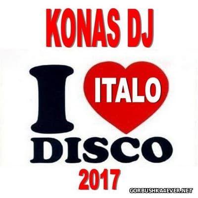 Konas DJ - I Love Italo Disco [2017]