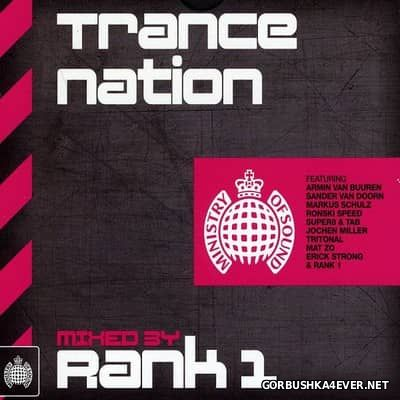 [Ministry Of Sound] Trance Nation [2011] / 2xCD / Mixed by Rank 1