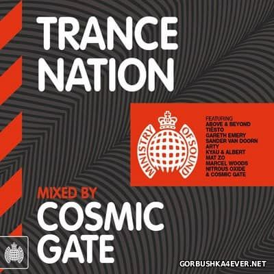 [Ministry Of Sound] Trance Nation [2012] / 2xCD / Mixed by Cosmic Gate