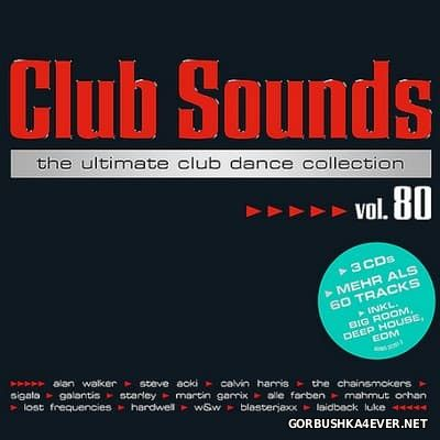 Club Sounds vol 80 [2017] / 3xCD